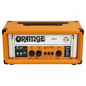Ampli Wifi Orange : orange or50 2a gen testata per chitarra gear4music ~ Melissatoandfro.com Idées de Décoration