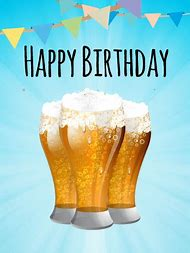 Happy Birthday With Beer
