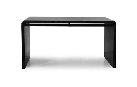 bureau taupe console design ou bureau laqué taupe noir ou blanc 140 cm