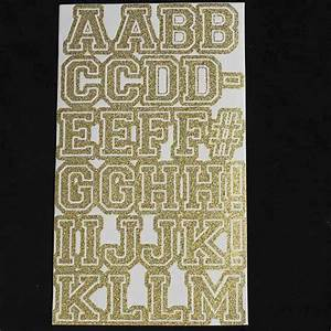 gold glitter vinyl sticker letters 84pcs scrapbooking With gold vinyl letter stickers