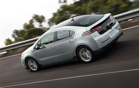 Updated: 2012 Holden Volt makes early debut - Photos (1 of 3)