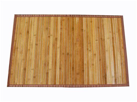tappeto di legno tappeti per cucina in bamboo homehome