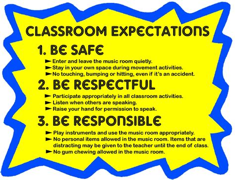 The 25+ Best Classroom Expectations Poster Ideas On Pinterest  Classroom Expectations
