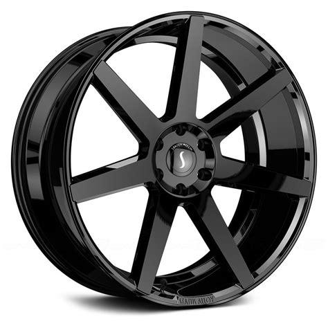 black wheels status journey wheels gloss black rims