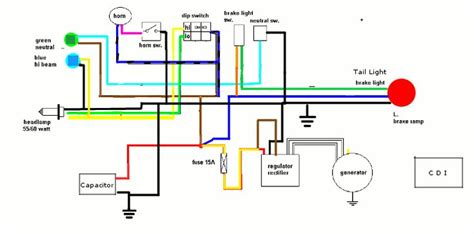 17 best about motorcycle wiring diagram on simple honda motorcycles and cafe