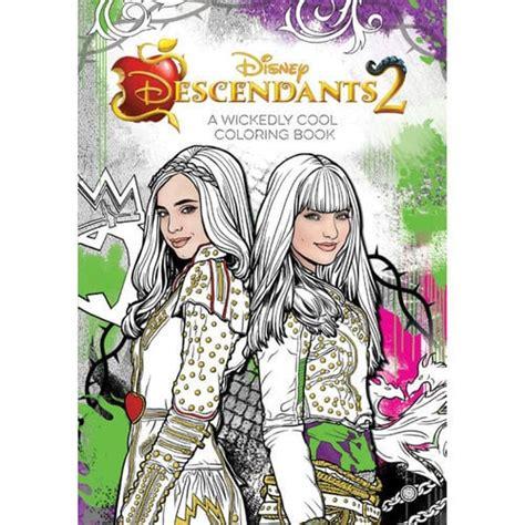 descendants   wickedly cool coloring book shopdisney