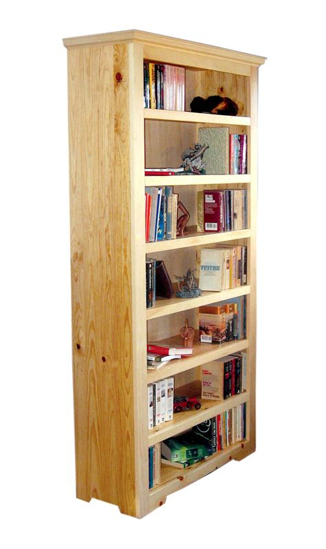 Pine Bookcase by Pine Bookcase This Classic Pine Bookcase Features