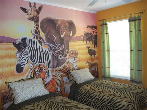 Animal Themed Childrens Bedrooms Jungle And Wild Design