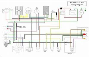 Loncin 110cc 4 Wheeler Wiring Diagram 8 Wire