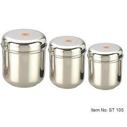 stainless steel kitchen storage containers india stainless steel canister stainless steel canister set 9411