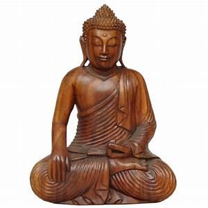 Statue De Bouddha : statue bouddha position de la terre t moin meubles ~ Teatrodelosmanantiales.com Idées de Décoration
