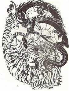 Tiger vs Dragon Wallpaper - WallpaperSafari