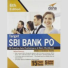 Disha Target Sbi Bank Po 20 Practice Sets Book Pdf  Download Now Bank4success