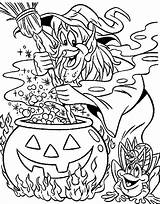 Coloring Halloween Witch Pages Witches Adults Difficult Frog Making Soup Frogs Fall Sheet Hard Sheets Printable Spooky Books Getcolorings Adult sketch template