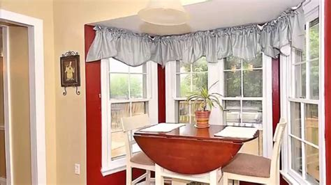 decorating corner window curtain designs corner windows with amazing breakfast nook decorating ideas as the unique and