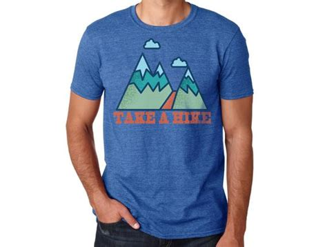 Hiking Shirts Hiking Tshirt Camping Shirt Graphic Tee
