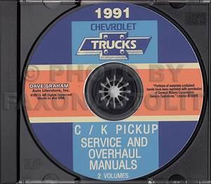 1991 Chevy 1  2  3  4   U0026 1 Ton Truck Overhaul Manual Original