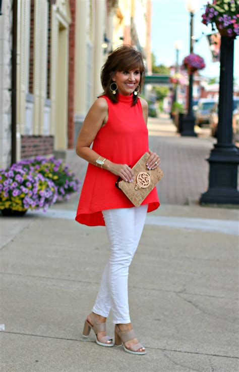 Perfect Ways to Wear Red Top Summer Outfit Ideas u2013 Designers Outfits Collection