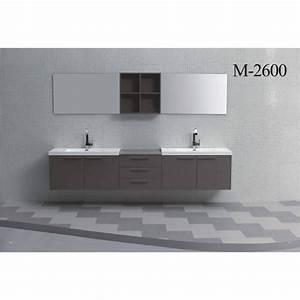 Doppelwaschtisch 100 Cm : badm bel doppelwaschtisch set 260 cm in verschiedenen ~ Sanjose-hotels-ca.com Haus und Dekorationen