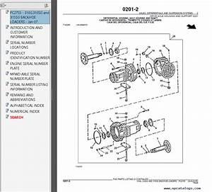 John Deere 310g Service Manual
