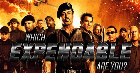 Which Expendable Are You?  Brainfall
