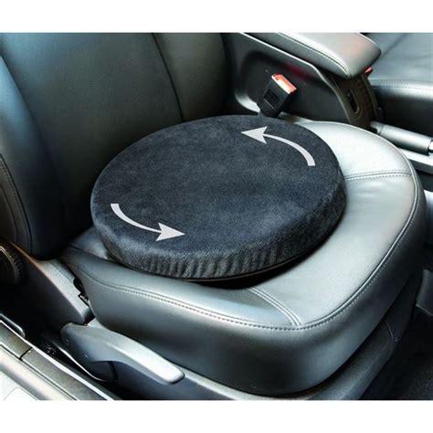 coussin pivotant pour siege auto coussin pivotant spécial mal de dos et ou jambes feu vert