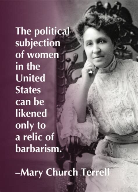 Notecard Mary Church Terrell Syracuse Cultural Workers
