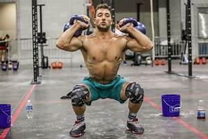 """CrossFit on Twitter: """"Kettlebell thrusters, barbell ..."""