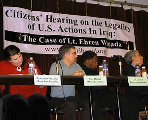 Citizens Hearing Puts the War on Trial in Defense of Lt ...