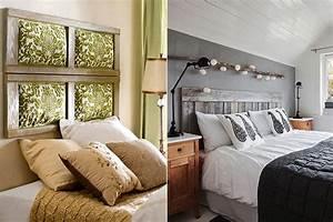Bett Mit Kissen Dekorieren : 50 schlafzimmer ideen f r bett kopfteil selber machen freshouse ~ Bigdaddyawards.com Haus und Dekorationen