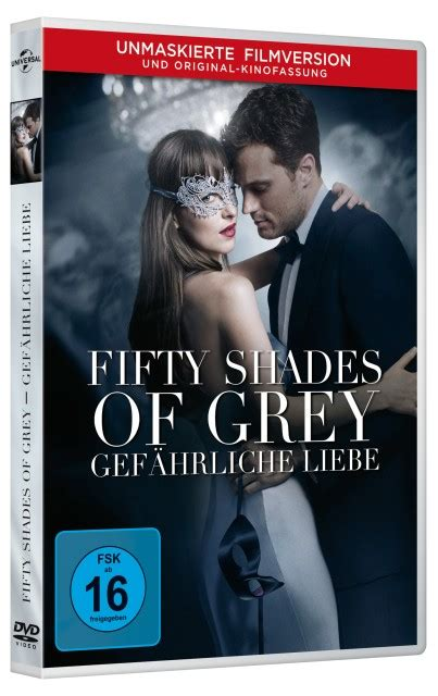 Fifty Shades Of Grey 2 Gef 228 Hrliche Liebe Dvd