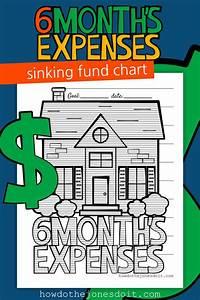 Sinking Fund Charts Sinking Funds Emergency Fund