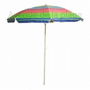Parasol De Plage Pas Cher : parasol de plage anti uv 50 multicolore 180 cm parasol ~ Dailycaller-alerts.com Idées de Décoration