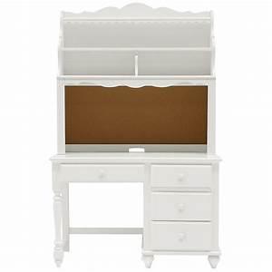 lauren white desk and hutch