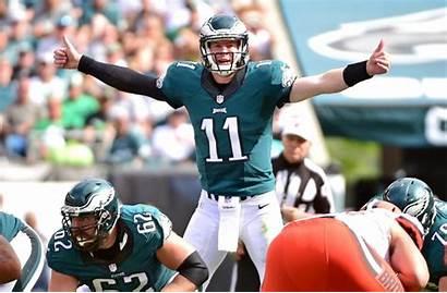 Wentz Carson Eagles Browns Philadelphia Cleveland Fired