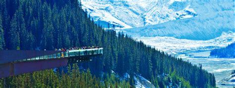 glacier skywalk tourist attraction banff