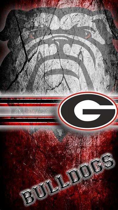 Georgia Bulldogs Wallpapers Bulldog Football Ga Iphone