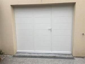 Porte De Garage 3 Vantaux : porte de garage battante sib en alu ral 9001 ~ Dode.kayakingforconservation.com Idées de Décoration