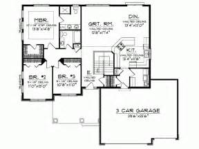 open concept ranch floor plans eplans ranch house plan open floor plan 1664 square