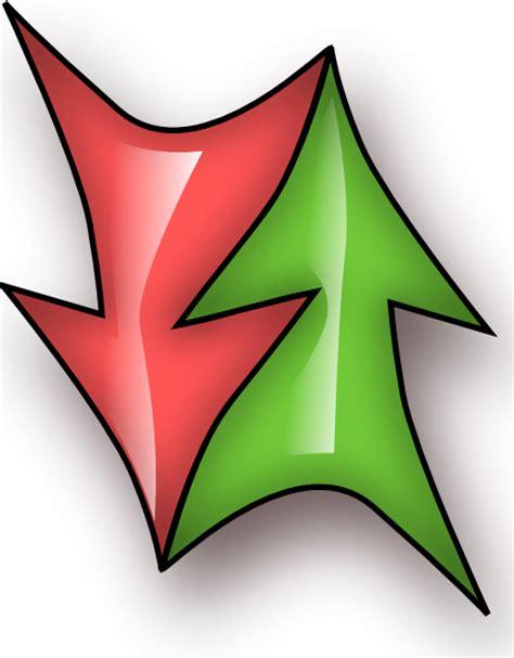 double arrow clip art  clkercom vector