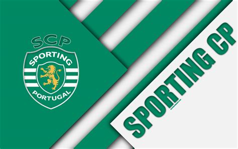 Download Wallpapers Sporting Fc, Portuguese Football Club