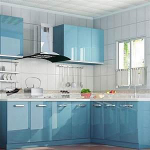 aliexpresscom buy yazi self adhesive wall sticker gloss With kitchen colors with white cabinets with uber sticker location