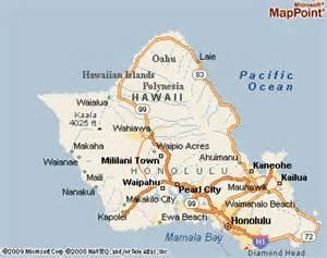 Waipahu Hawaii Map
