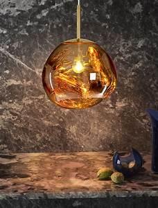 Tom Dixon Melt : tom dixon melt mini gold pendant ~ Watch28wear.com Haus und Dekorationen