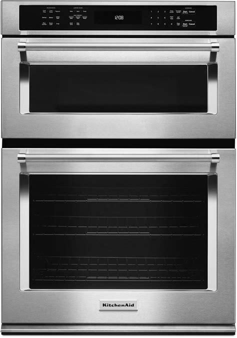 kitchenaid  electric ovenmicrowave combo built  kocee dick van dyke appliance world