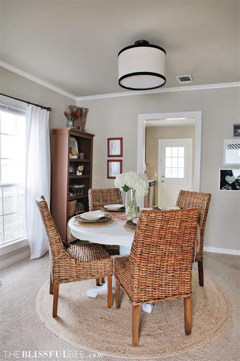 Dining Room Updates THE BLISSFUL BEE