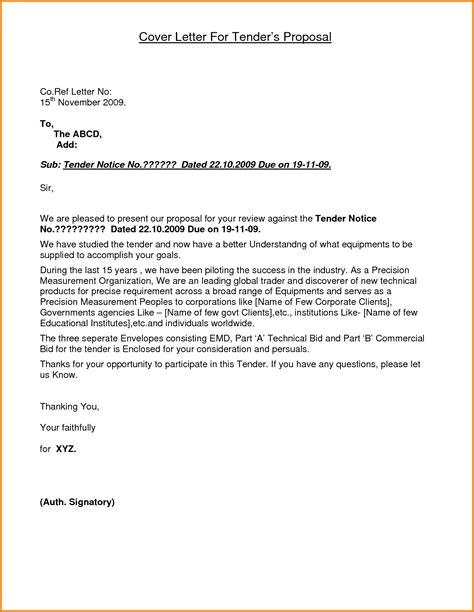 sample letter submitting documents