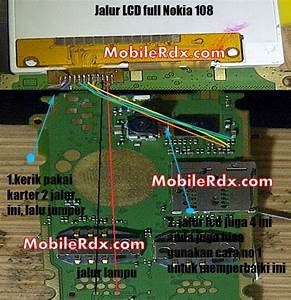 Nokia 108 Full Lcd Display Ways Jumpers