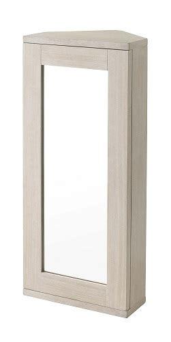Corner Bathroom Cabinets Uk by Showerdrape Cheltenham Limed Oak Corner Mirror Cabinet Ebay