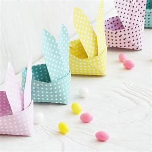 Osterkörbchen Mit Kindern Basteln : origami osterhasen korb kostenlose vorlage als pdf ~ Markanthonyermac.com Haus und Dekorationen